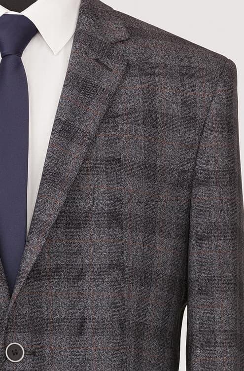 Пиджак MADRID мод. N3437 (полуприталенная)